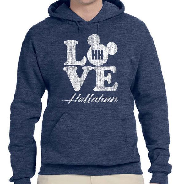 Hallahan LOVE  Hooded Sweatshirt