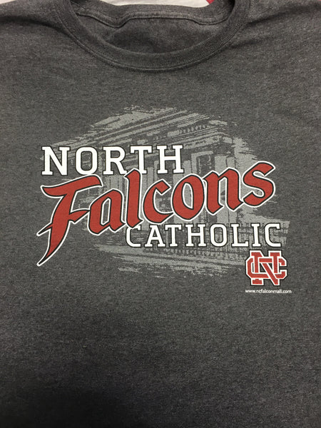 FALCONS School Front T-Shirt