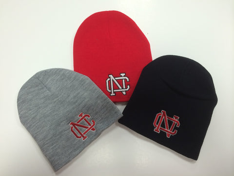 667cfbe4002 Quick Shop North Catholic - Falcon Mall North Catholic Winter Hats - Basic  Solid Skull Cap ...