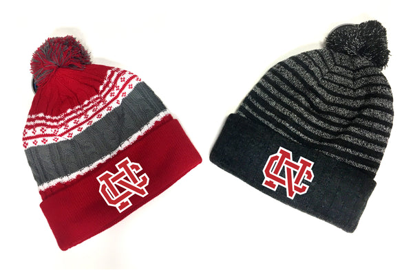 North Catholic Winter Hats -Beanie with Pom-Pom