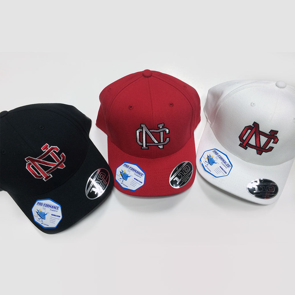5c78eb93e89 North Catholic Cool Dry Flexfit Pro-Formance Cap