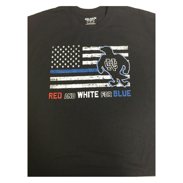 Red and White For Blue T-Shirt
