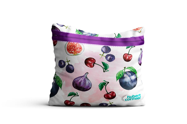 Sac réutilisable - Fruits (mauve)