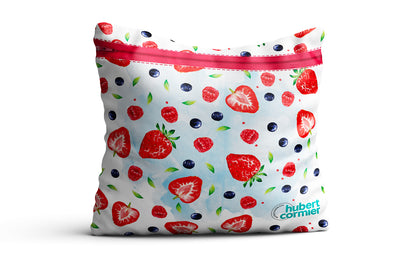 Sac réutilisable - Fruits (rouge) - format JUMBO