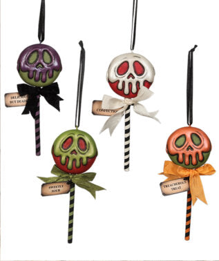 poison treats ornament - Rustic Lane Boutique