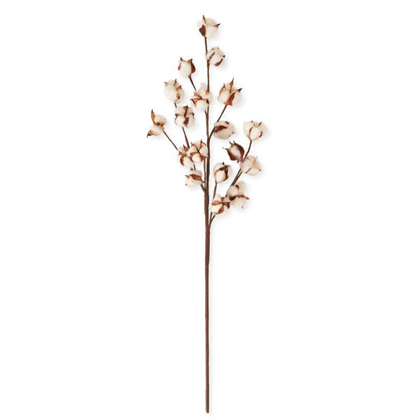 31 Inch Cotton Pod Stem - Rustic Lane Boutique
