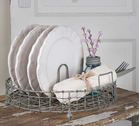 Vintage Dish Rack - Rustic Lane Boutique
