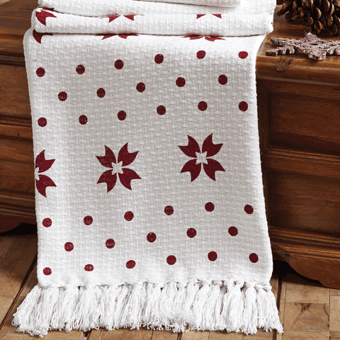 Kringle Woven Throw 60x50 - Rustic Lane Boutique
