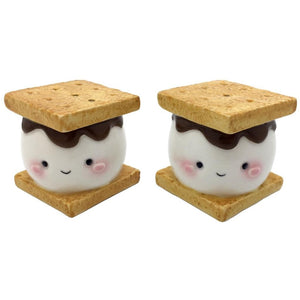 Marshmallow S'more Salt & Pepper Set - Rustic Lane Boutique