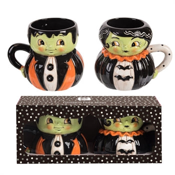 Mr & Mrs. Frank Mug In Box S/2 - Rustic Lane Boutique