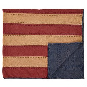 Cheyenne American Flag Throw - Rustic Lane Boutique