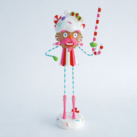 Cupcake Nutcracker Table Top Figure