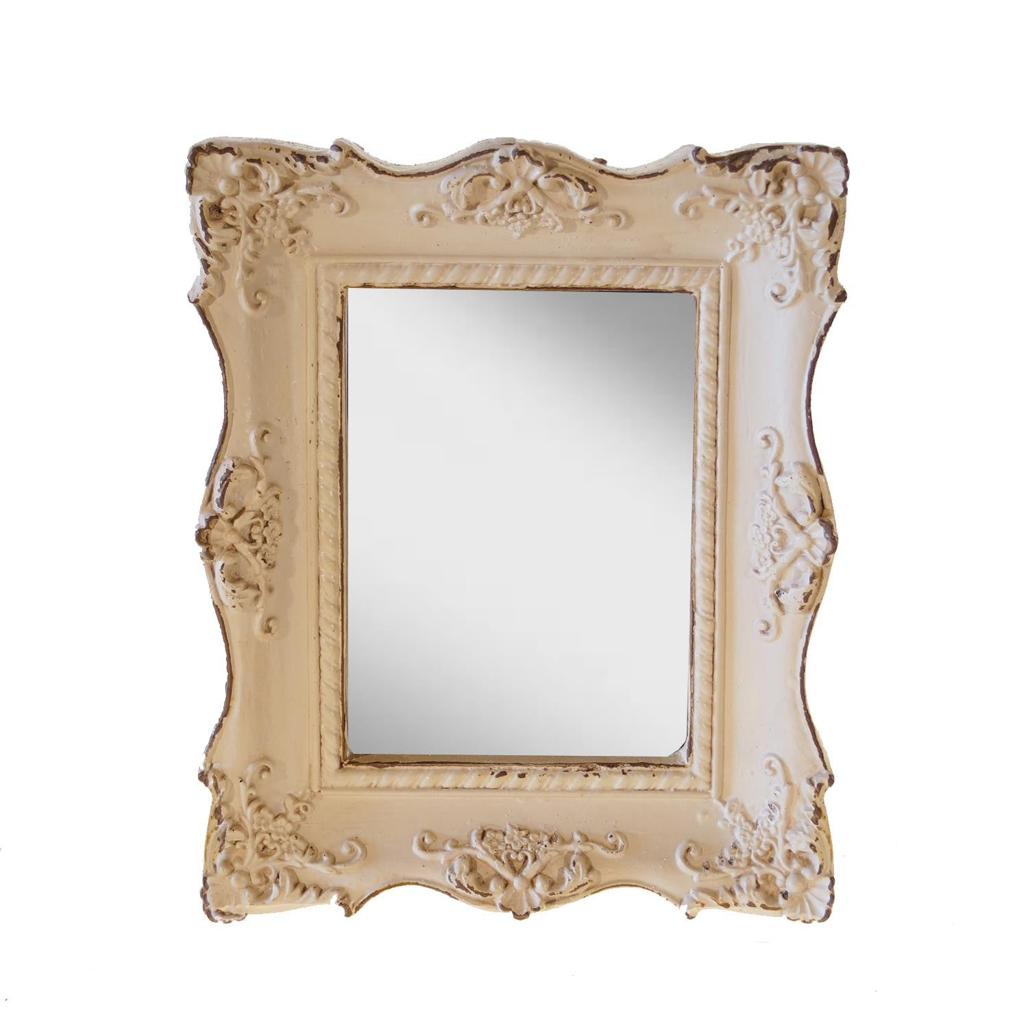 Detailed Mirror - Rustic Lane Boutique