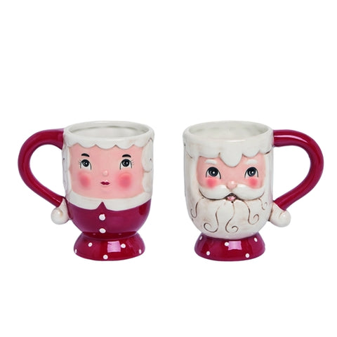 Santa & Mrs. Claus Mug set - Rustic Lane Boutique