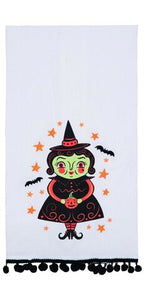 Halloween Tea Towels by Johanna Parker - Rustic Lane Boutique