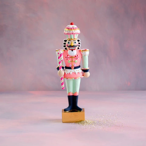 Gold Colonel Cupcake Figure 20""