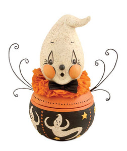 Boo Boo Ghost Candy Bowl - Rustic Lane Boutique