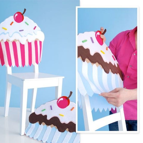 Cupcake Chair Covers - Rustic Lane Boutique