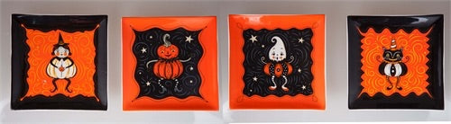 Assorted Johanna Parker Halloween Plates - Rustic Lane Boutique