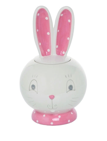 Bunny Ears Cookie Jar - Rustic Lane Boutique
