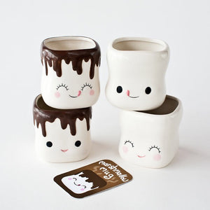 Marshmallow Mug Friends, set of 4 - Rustic Lane Boutique