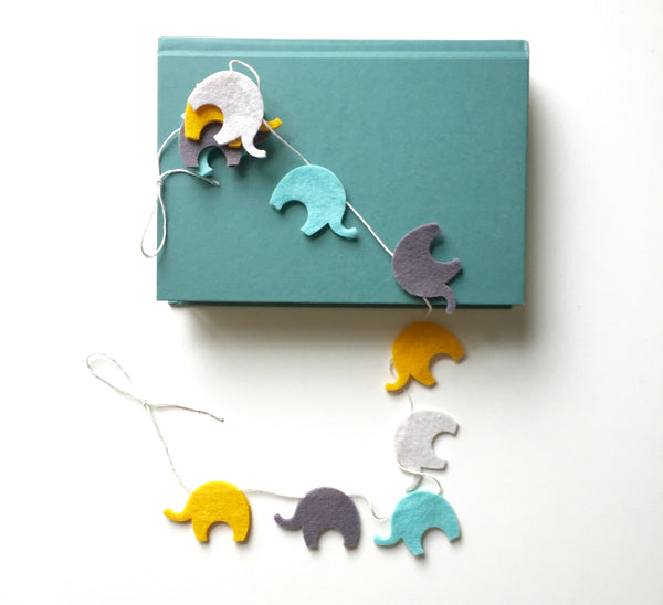 Baby Elephant Banner (multi-color)