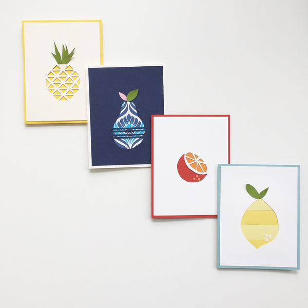 Meyer Lemon Card Stationery