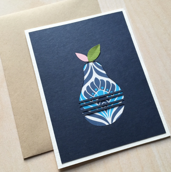 Pear Card Stationery