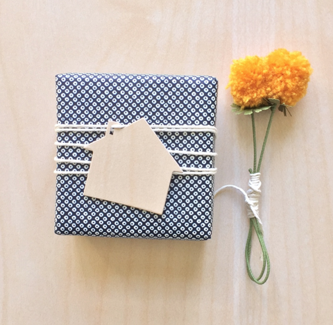 House Shaped Gift Tags