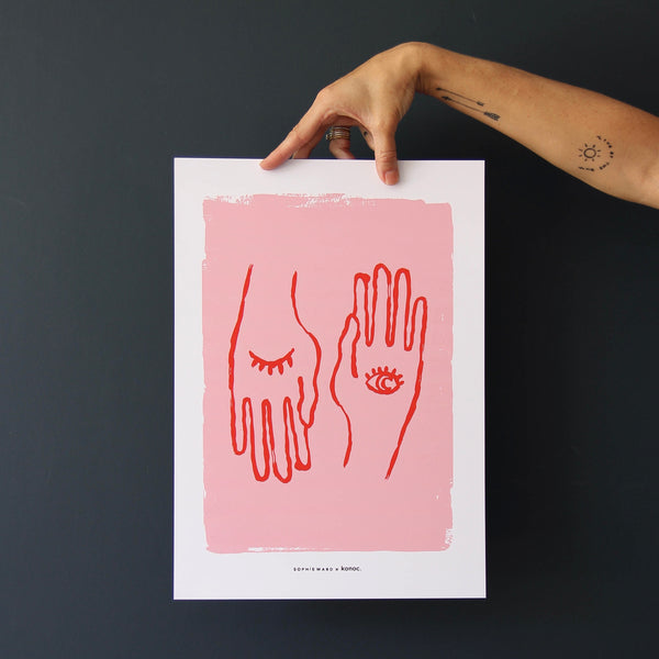 Hand To Eye Pink