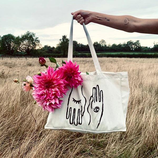 Hand to Eye Tote - Natural