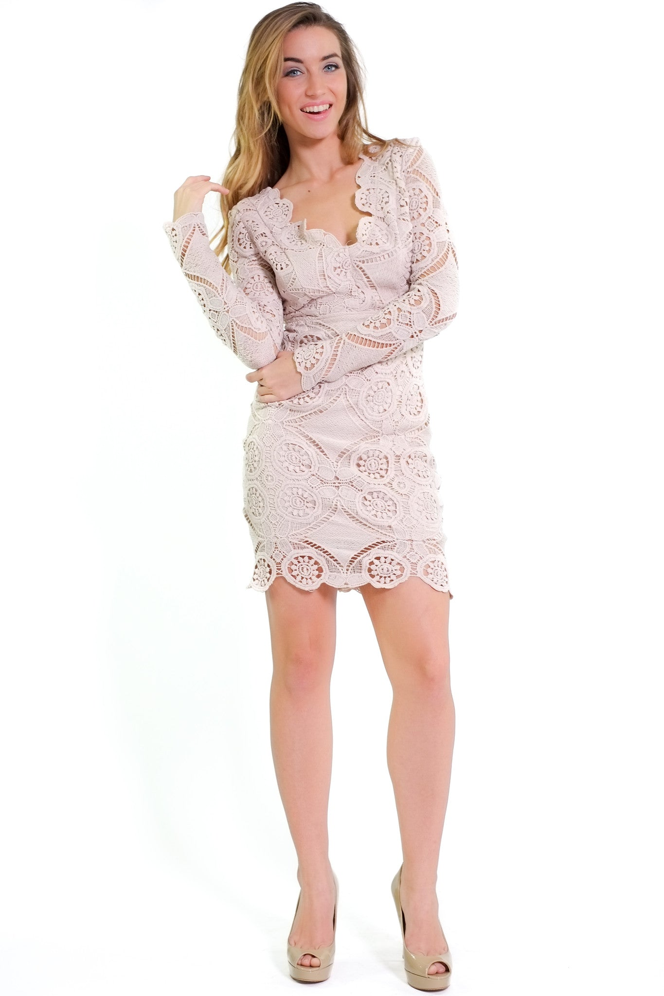 Julie Dress - Beige