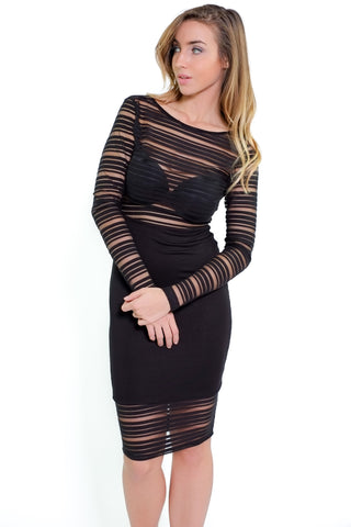 Mila Dress - Black
