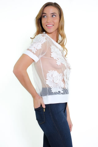 Phoebe Top - White
