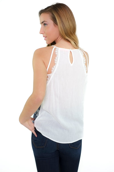 Ginny Top - White