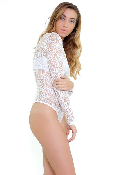 Candice Bodysuit - White