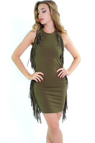 Fringing Out Dress