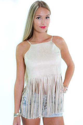 Keep It Fringey Top