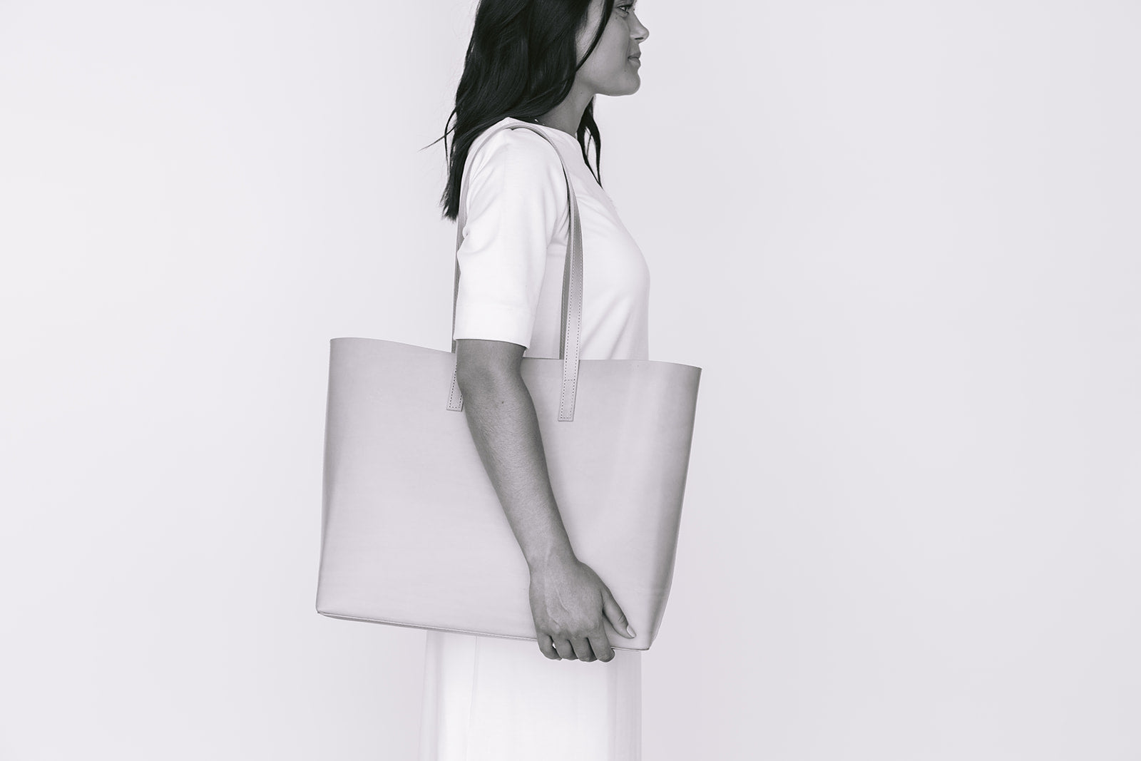 DAILY TOTE - UNDYED NATURAL