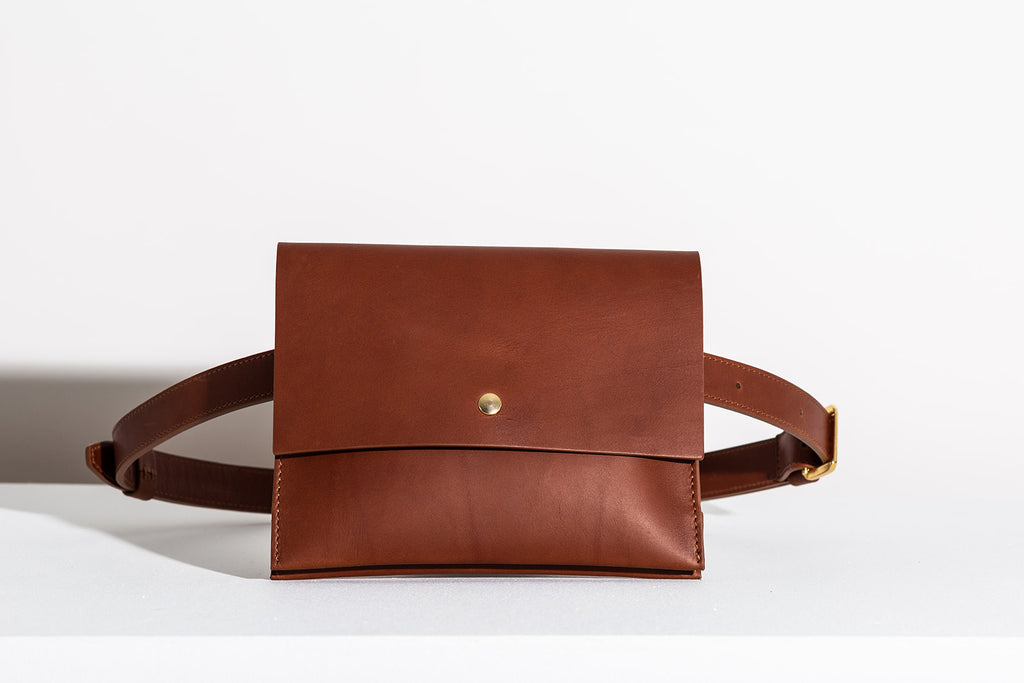 Last Chance: CLASSIC BELT BAG - COGNAC