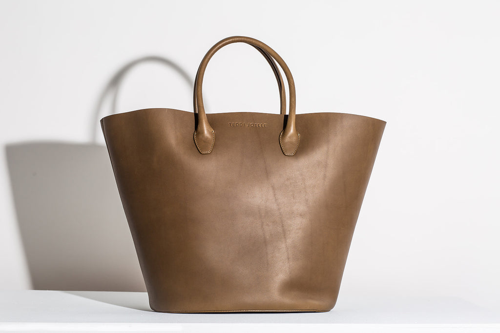 LAST CHANCE: MARKET TOTE - OLIVE