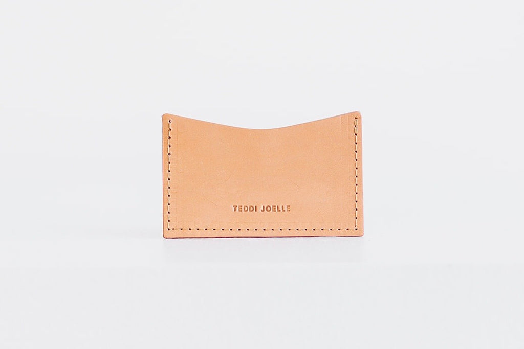 POCKET WALLET - UNDYED NATURAL