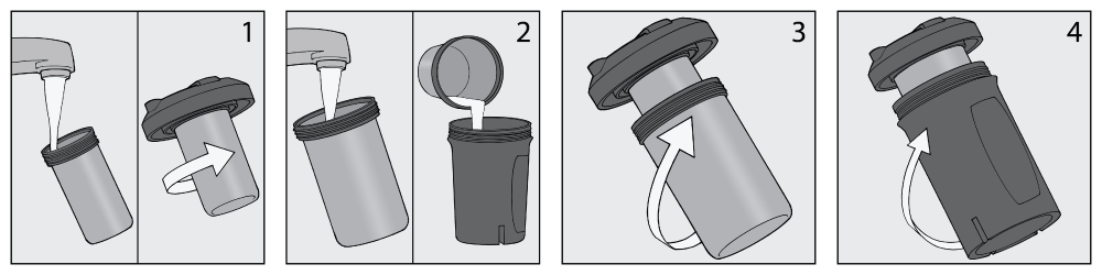 Assembly instructions for chubby cups excited too