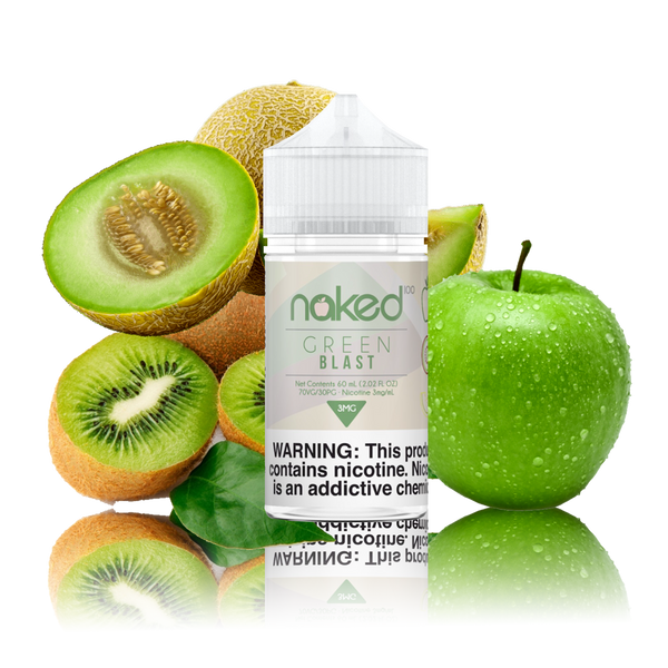 Naked 100 - Melon Kiwi (Green Blast)