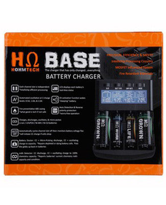 Hohm Base 4 Bay Battery Charger