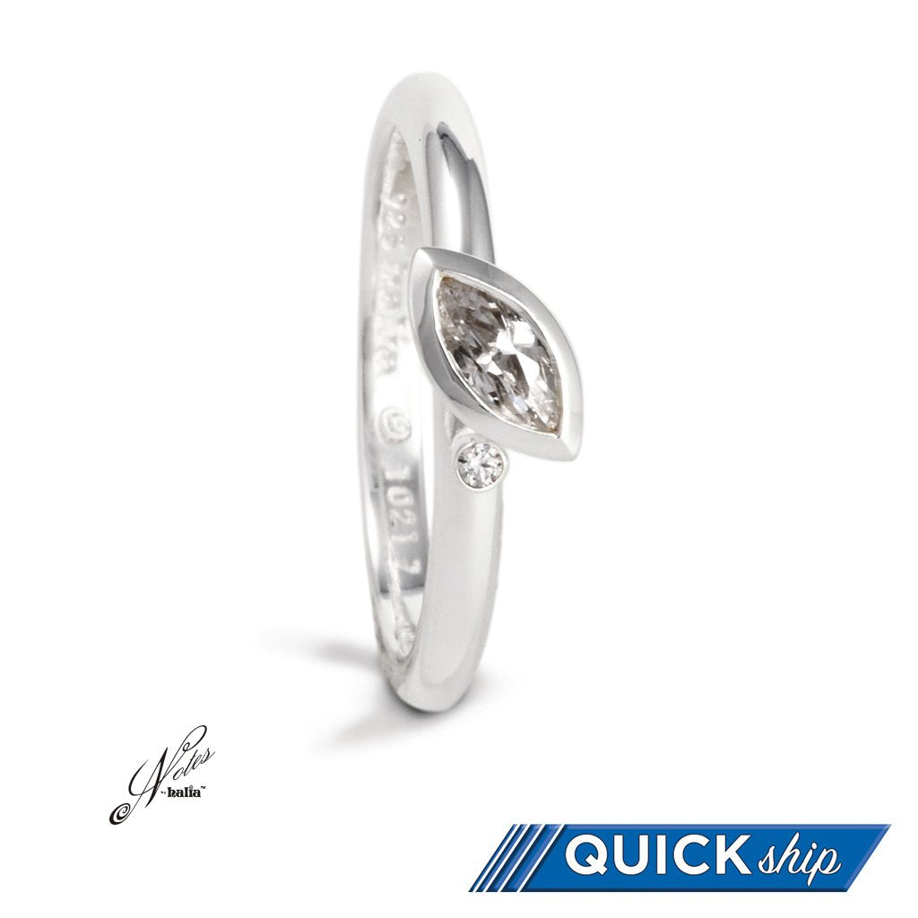 Dewdrop Stacking Ring - Quick Ship