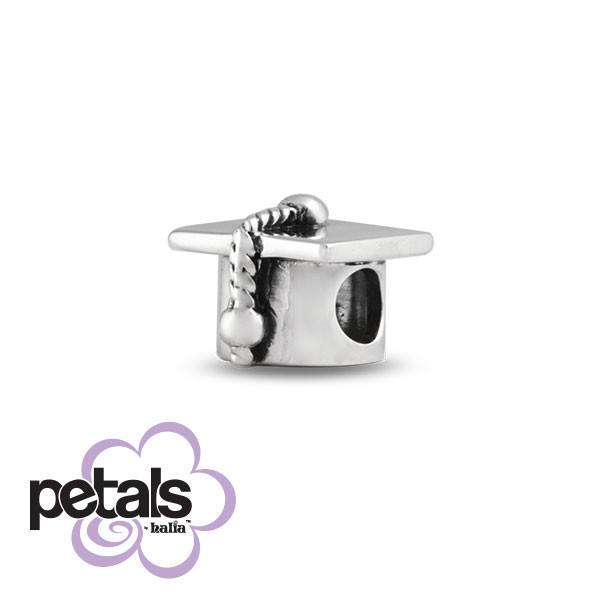 First Graduation -  Petals Sterling Silver Charm