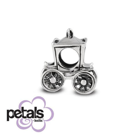 Only 'til Midnight -  Petals Sterling Silver Charm