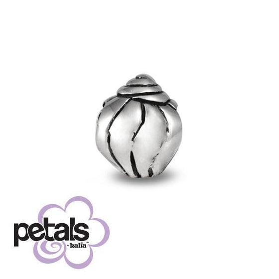 I Can Hear The Ocean -  Petals Sterling Silver Charm