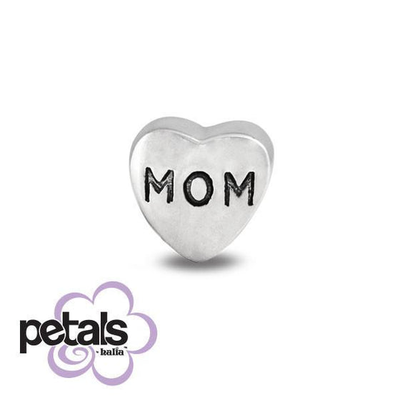 A Mother's Love -  Petals Sterling Silver Charm